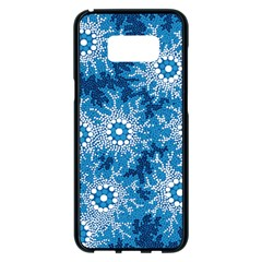Aboriginal Art – Bushland Dreaming Samsung Galaxy S8 Plus Black Seamless Case