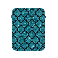 Tile1 Black Marble & Blue Green Water (r) Apple Ipad 2/3/4 Protective Soft Case