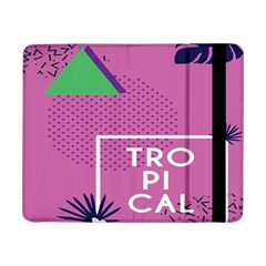 Behance Feelings Beauty Polka Dots Leaf Triangle Tropical Pink Samsung Galaxy Tab Pro 8 4  Flip Case