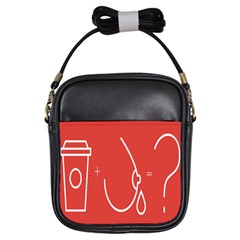 Caffeine And Breastfeeding Coffee Nursing Red Sign Girls Sling Bags