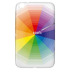 Colour Value Diagram Circle Round Samsung Galaxy Tab 3 (8 ) T3100 Hardshell Case