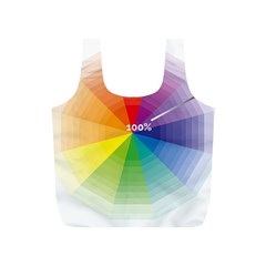 Colour Value Diagram Circle Round Full Print Recycle Bags (s)