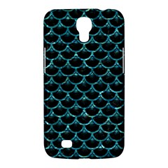 Scales3 Black Marble & Blue Green Water Samsung Galaxy Mega 6 3  I9200 Hardshell Case