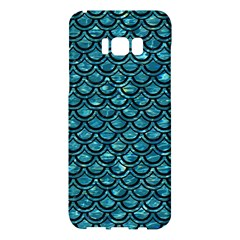Scales2 Black Marble & Blue Green Water (r) Samsung Galaxy S8 Plus Hardshell Case
