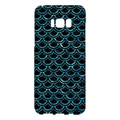 Scales2 Black Marble & Blue Green Water Samsung Galaxy S8 Plus Hardshell Case