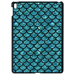 Scales1 Black Marble & Blue Green Water (r) Apple Ipad Pro 9 7   Black Seamless Case