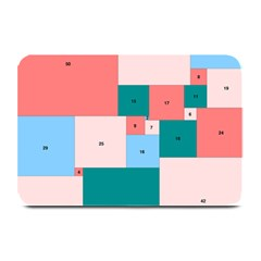 Simple Perfect Squares Squares Order Plate Mats