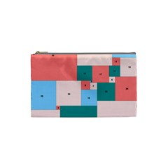 Simple Perfect Squares Squares Order Cosmetic Bag (small)