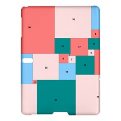 Simple Perfect Squares Squares Order Samsung Galaxy Tab S (10 5 ) Hardshell Case