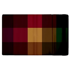 Stripes Plaid Color Apple Ipad Pro 12 9   Flip Case