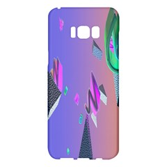 Triangle Wave Rainbow Samsung Galaxy S8 Plus Hardshell Case