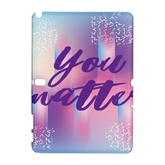 You Matter Purple Blue Triangle Vintage Waves Behance Feelings Beauty Galaxy Note 1