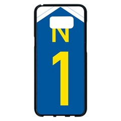 South Africa National Route N1 Marker Samsung Galaxy S8 Plus Black Seamless Case