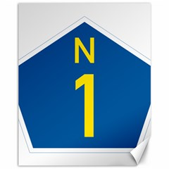 South Africa National Route N1 Marker Canvas 11  X 14
