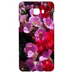 Wonderful Pink Flower Mix Samsung C9 Pro Hardshell Case