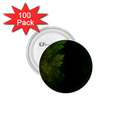 Beautiful Fractal Pines In The Misty Spring Night 1.75  Buttons (100 pack)