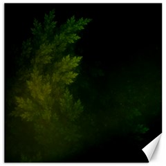 Beautiful Fractal Pines In The Misty Spring Night Canvas 20  X 20