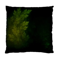 Beautiful Fractal Pines In The Misty Spring Night Standard Cushion Case (one Side)