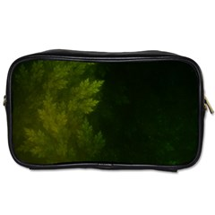 Beautiful Fractal Pines In The Misty Spring Night Toiletries Bags 2-Side