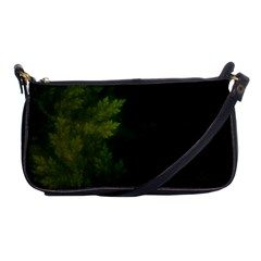 Beautiful Fractal Pines In The Misty Spring Night Shoulder Clutch Bags