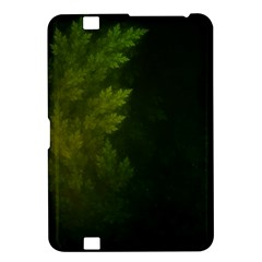 Beautiful Fractal Pines In The Misty Spring Night Kindle Fire HD 8.9