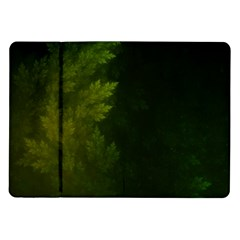 Beautiful Fractal Pines In The Misty Spring Night Samsung Galaxy Tab 10.1  P7500 Flip Case