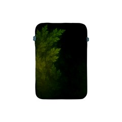 Beautiful Fractal Pines In The Misty Spring Night Apple iPad Mini Protective Soft Cases