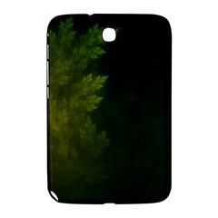 Beautiful Fractal Pines In The Misty Spring Night Samsung Galaxy Note 8 0 N5100 Hardshell Case