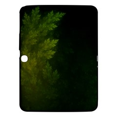 Beautiful Fractal Pines In The Misty Spring Night Samsung Galaxy Tab 3 (10.1 ) P5200 Hardshell Case