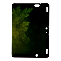 Beautiful Fractal Pines In The Misty Spring Night Kindle Fire HDX 8.9  Hardshell Case