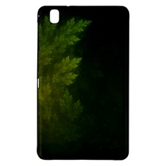 Beautiful Fractal Pines In The Misty Spring Night Samsung Galaxy Tab Pro 8.4 Hardshell Case