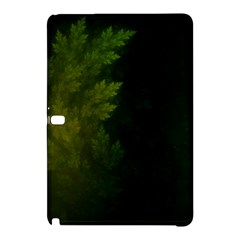 Beautiful Fractal Pines In The Misty Spring Night Samsung Galaxy Tab Pro 12.2 Hardshell Case