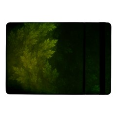 Beautiful Fractal Pines In The Misty Spring Night Samsung Galaxy Tab Pro 10.1  Flip Case