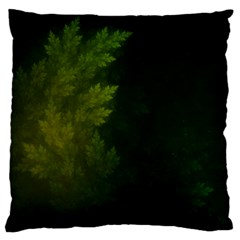 Beautiful Fractal Pines In The Misty Spring Night Standard Flano Cushion Case (Two Sides)