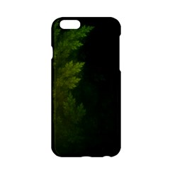 Beautiful Fractal Pines In The Misty Spring Night Apple iPhone 6/6S Hardshell Case