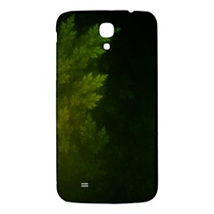 Beautiful Fractal Pines In The Misty Spring Night Samsung Galaxy Mega I9200 Hardshell Back Case
