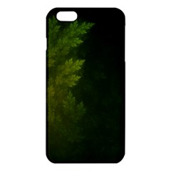 Beautiful Fractal Pines In The Misty Spring Night iPhone 6 Plus/6S Plus TPU Case