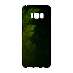 Beautiful Fractal Pines In The Misty Spring Night Samsung Galaxy S8 Hardshell Case