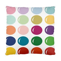 Brights Pastels Bubble Balloon Color Rainbow Standard Cushion Case (Two Sides)