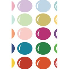 Brights Pastels Bubble Balloon Color Rainbow 5.5  x 8.5  Notebooks