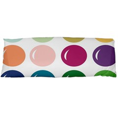Brights Pastels Bubble Balloon Color Rainbow Body Pillow Case Dakimakura (Two Sides)