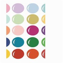 Brights Pastels Bubble Balloon Color Rainbow Large Garden Flag (Two Sides)
