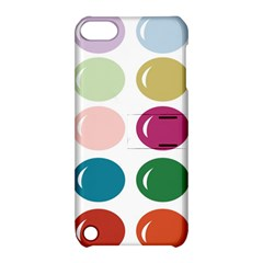 Brights Pastels Bubble Balloon Color Rainbow Apple iPod Touch 5 Hardshell Case with Stand