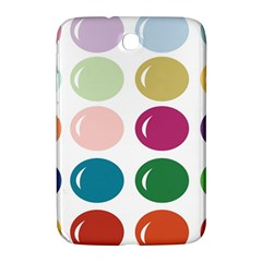 Brights Pastels Bubble Balloon Color Rainbow Samsung Galaxy Note 8.0 N5100 Hardshell Case