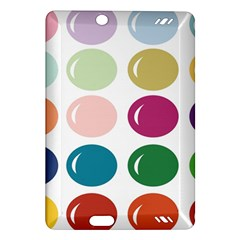 Brights Pastels Bubble Balloon Color Rainbow Amazon Kindle Fire HD (2013) Hardshell Case