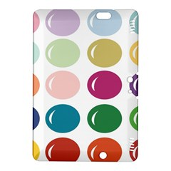 Brights Pastels Bubble Balloon Color Rainbow Kindle Fire HDX 8.9  Hardshell Case