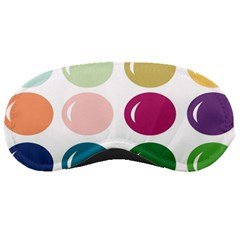 Brights Pastels Bubble Balloon Color Rainbow Sleeping Masks