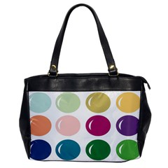 Brights Pastels Bubble Balloon Color Rainbow Office Handbags