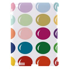 Brights Pastels Bubble Balloon Color Rainbow Apple iPad 3/4 Hardshell Case (Compatible with Smart Cover)