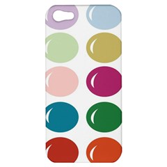 Brights Pastels Bubble Balloon Color Rainbow Apple iPhone 5 Hardshell Case